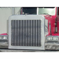 Peterbilt 379 Short Hood Grill With 18 Vertical Bars By Roadworks