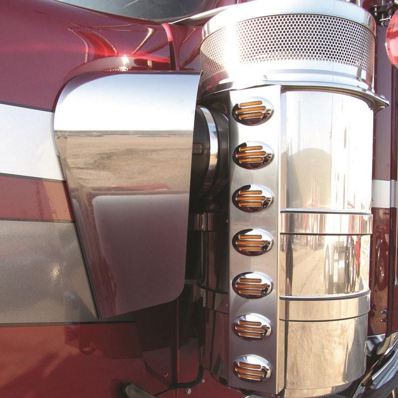 Kenworth W900 Blank Air Filter Shroud Elephant Ear On Truck