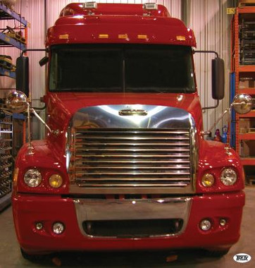 Freightliner Century Louvered Grill Amp Surround With Bug