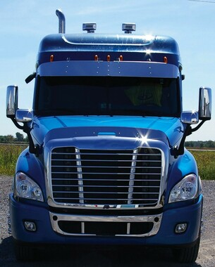 Freightliner Cascadia Hoodshield Bug Deflector Raney S