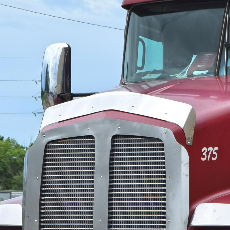 Kenworth T600 Hoodshield Bug Deflector