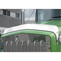 Kenworth T800 Hoodshield Bug Deflector Regular Hood On Truck