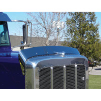 Bug Shield Deflector for Peterbilt 379 Extended Hood