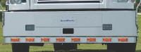 International 9900I Full Bumper Bar With 8 Super 21 Lights
