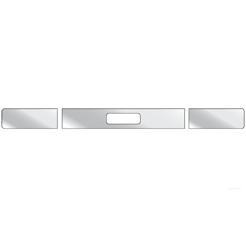 Freightliner FLD Bumper Trim With 1 Tow Pin Hole & Blank Ends