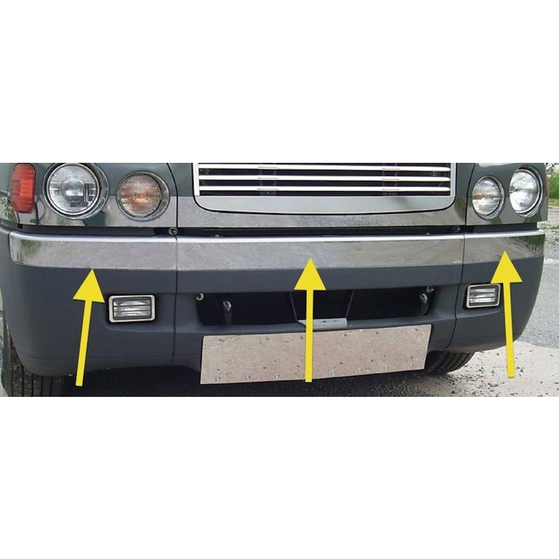 Freightliner Century Front Bumper Trims With Arrows