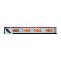 "International 9900i ix 52"" Cab panels with Heater plug and 8 Super21 Lights"