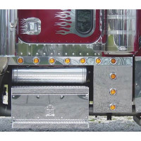 Peterbilt 379 Extended Cab Panels & Rectangular Cowl With Beehive LEDs