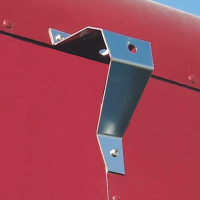 Peterbilt 359 Load Light Bracket On Back Of Cab Or Sleeper