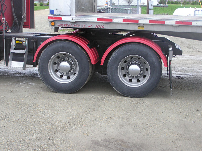 Minimizer The TT Twins 2260 Series Truck Red Poly Fenders