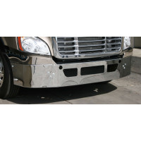 Freightliner Cascadia Bumper Chrome Mounted