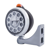 Black LED Guide Headlight Set