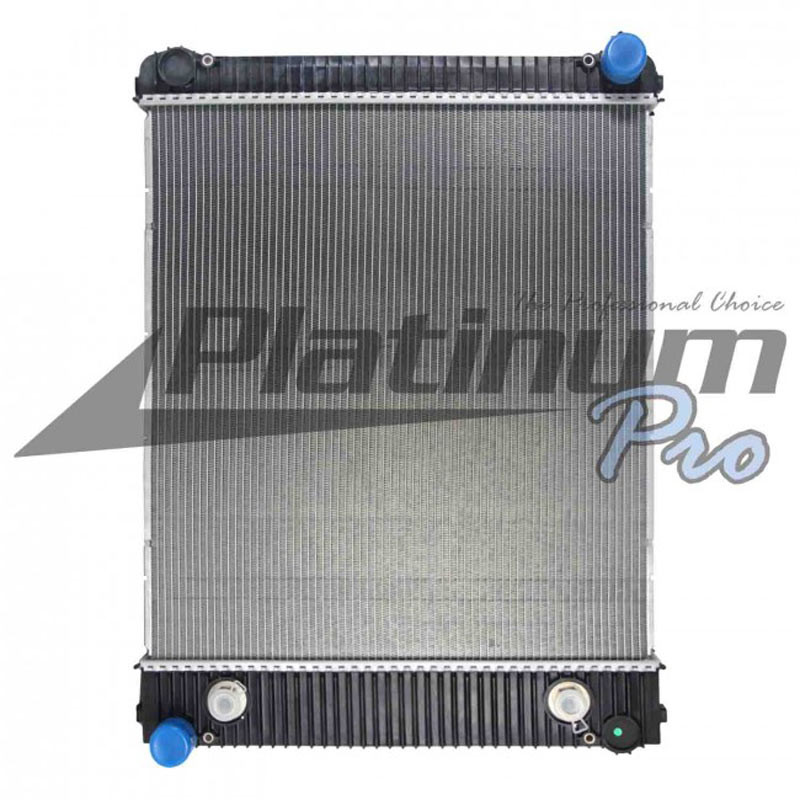 """Freightliner M2 Business Class Radiator With 18"""" Oil Cooler"""