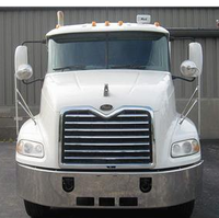 Mack CX613 Vision Chrome Bumper Front of Truck View