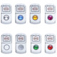 Chrome Diagnostic Switch Cover Styles