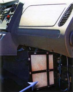 Freightliner M2 Business Class Interior Cabin Air Filter