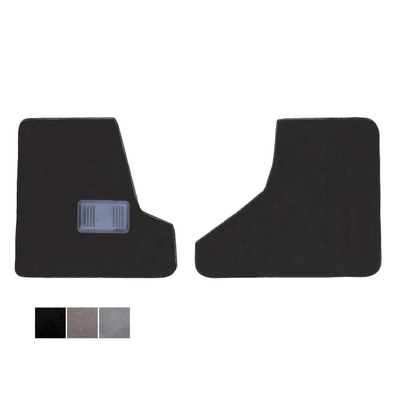Freightliner Cascadia Floor Mats Front Two-Piece Carpet