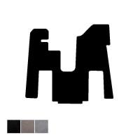 Peterbilt 379 388 & 389 Floor Mat Front