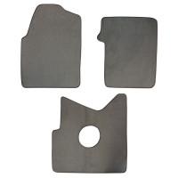 International ProStar Floor Mats 3 Piece Kit 2008-2011 Carpet Grey