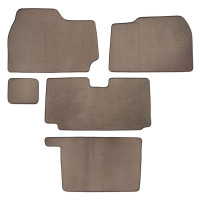 Kenworth T2000 Floor Mats 5 Piece Kit 2001-2010 Carpet Beige