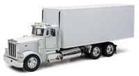 Peterbilt White Box Truck 1/32 Scale
