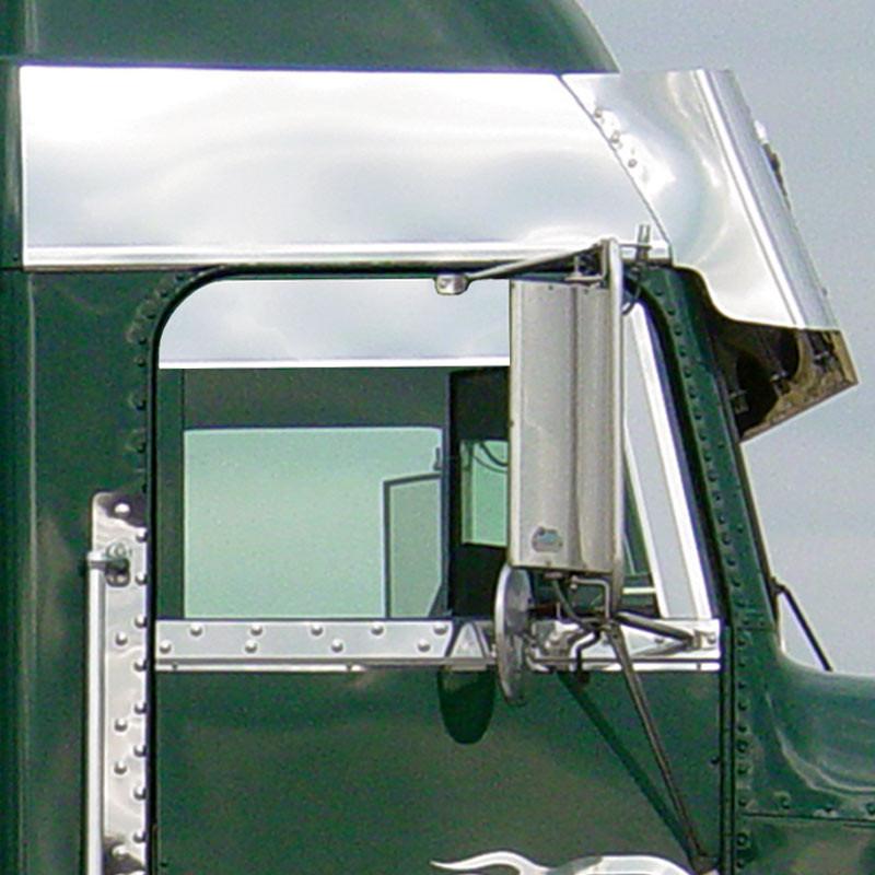Freightliner Classic FLD FLA Window Air Deflector By Roadworks