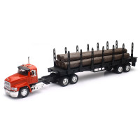 Mack CH Log Carrier With Logs 1/32 Scale