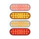 Pearl Oval LED Light STT & PTC 24 Diodes