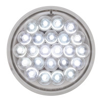"Pearl 4"" Round LED Light Back Up 24 Diodes"
