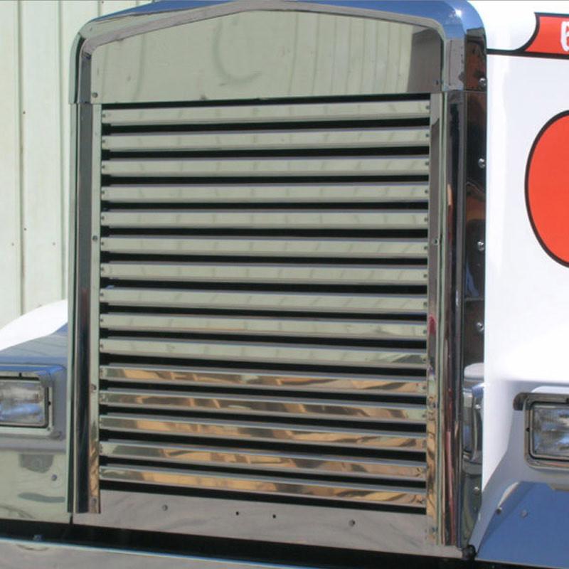 Kenworth W900L Long Hood Grill Horizontal Bars