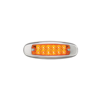 Spider Ultra Thin Clearance Marker Led Light - Amber