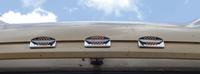 Freightliner Rectangular Stealth Cab Lights LED 8 Diodes