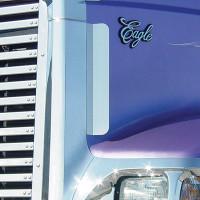 "International 9900I 5900I Side Grill Deflectors 15"" By Roadworks"