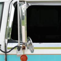Kenworth K100, T300, T600, T800, W900 Window Air Deflectors By RoadWorks