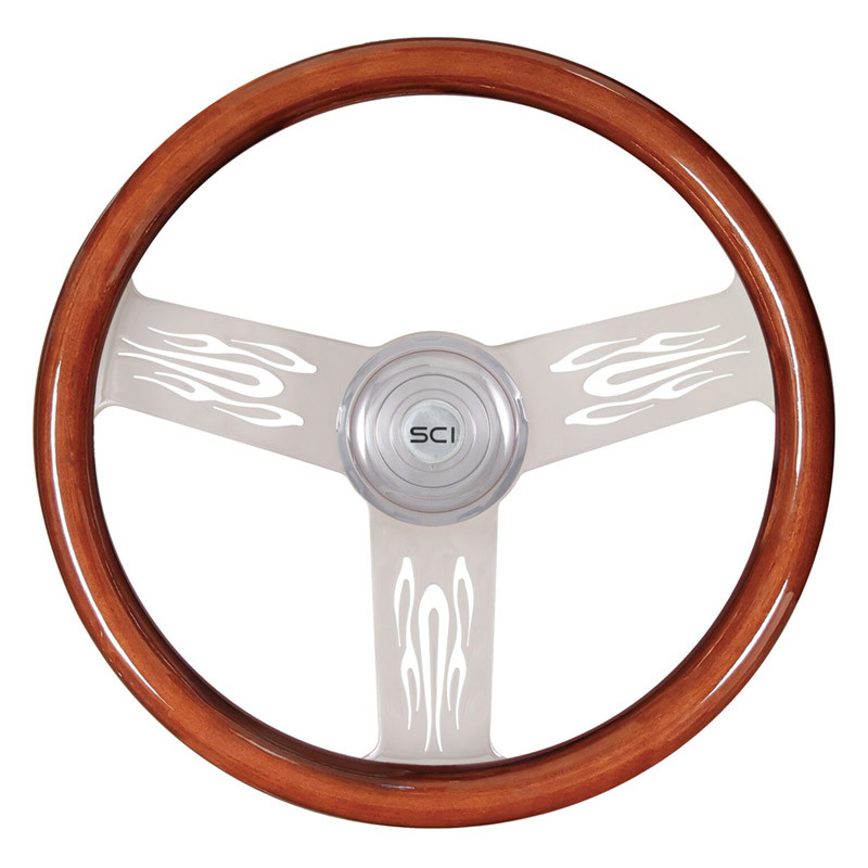 "Flame 18"" Steering Wheel"