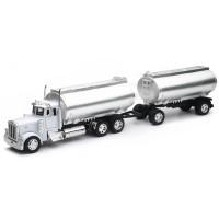 Peterbilt 379 Twin Oil Chrome Tanker Truck 1/32 Scale