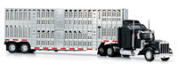 Kenworth W900 With Pot Belly Livestock Trailer 1/43 Scale