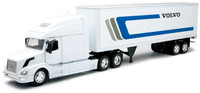 Volvo VN-780 With 40' Container In White With Volvo Insignia