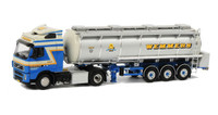 Wemmers Volvo FH 12 Globetrotter Liquid Tanker 1/50 Scale