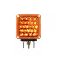 Pearl Amber LED Rectangular Turn Signal