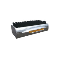 Chromed Aluminum Flatline Amber LED Boot Brush