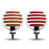 Flatline Double Face LED Round Turn Signal Light Both Sides