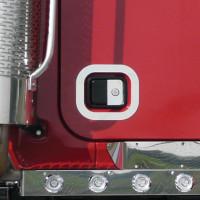 Mack Granite Door Handle Lock Insert Trim