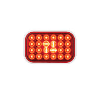 Rectangular Pearl STT Red LED Light