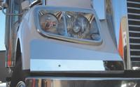 Freightliner Coronado Headlight Fender Guards