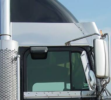 Freightliner Classic Fld Condo Above Door Stainless Trims