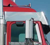 Freightliner Classic / FLD Mid-Roof Above Door Stainless Trim