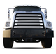 Freightliner 108SD 114SD Stainless Steel Grill Cover Front View