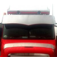 "Freightliner Century 18"" Wicked Drop Visor 2003 And Older - Blank"
