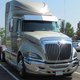International Prostar Bug Shield Stainless Steel On Truck